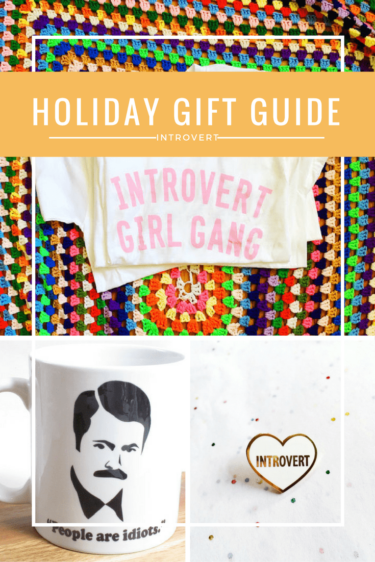 Holiday Gift Guide Introvert