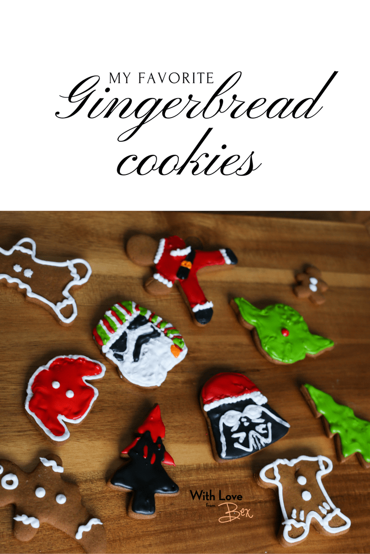 My Favourite Gingerbread Cookies