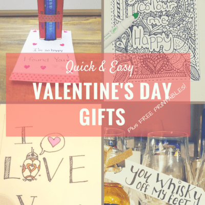 Quick & Easy Valentine's Day ideas