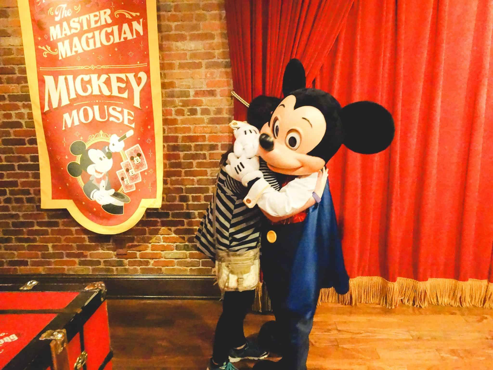 Hug from Mickey