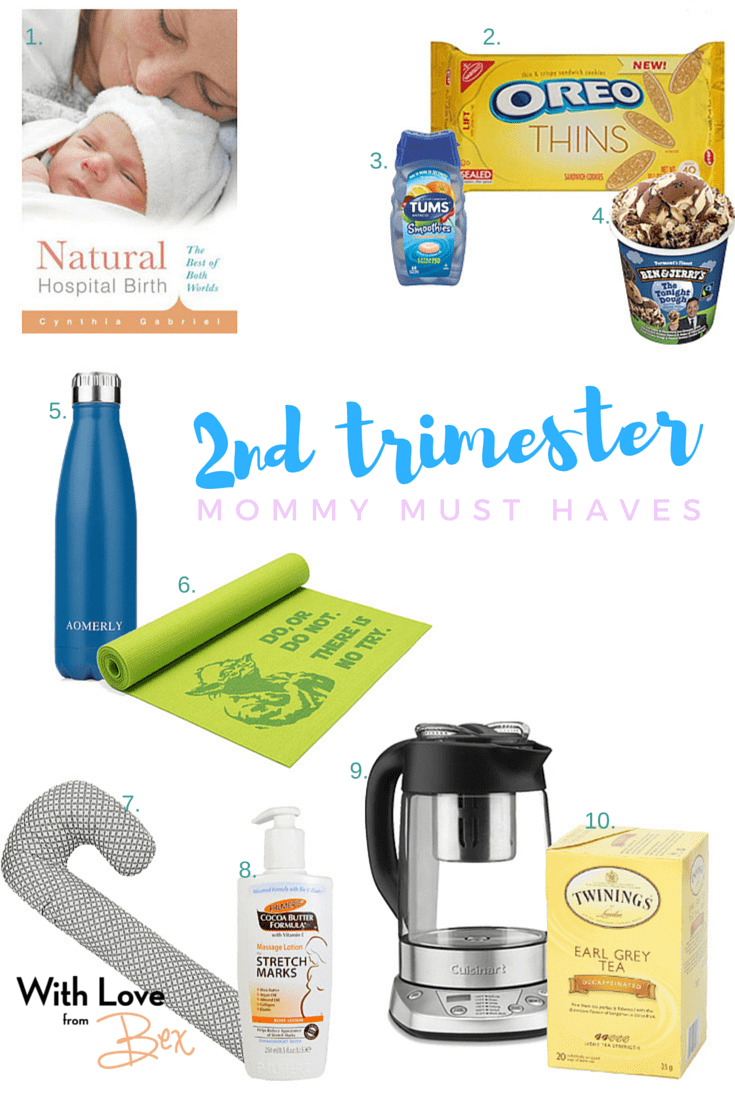 Mommy Must Haves: Second Trimester