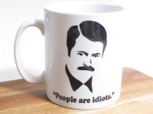 people-are-idiots-mug