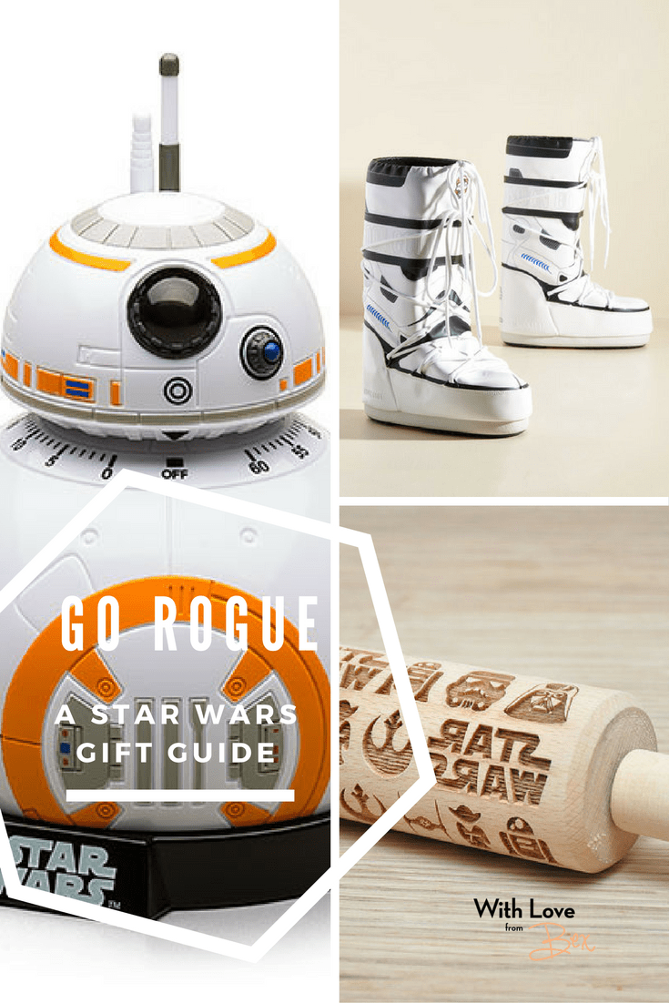 Go Rogue this holiday with Gifts for the Star Wars Fan