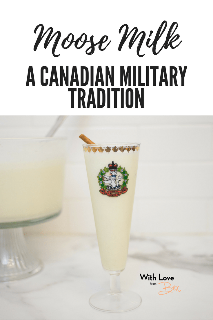 A Canadian Military Tradition: Moose Milk