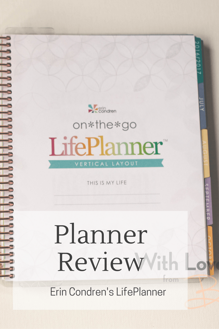Planner Review: Erin Condren LifePlanner