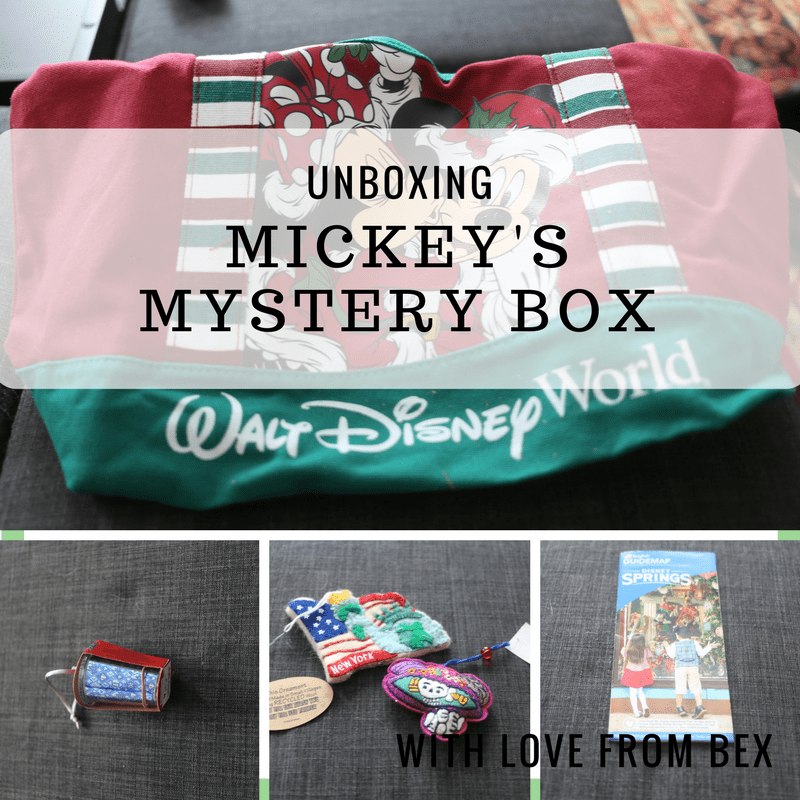 Subscription Unboxing: Mickey's Mystery Box