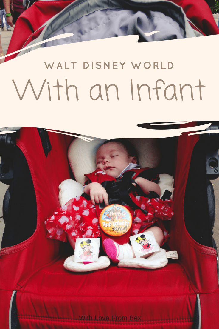 Enjoy your infant focused Disney Vacation