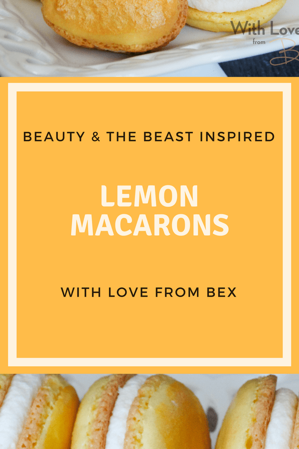 Bex Bakes: Beauty & the Beast Inspired Macarons