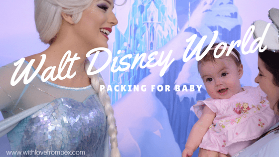 Packing for Walt Disney World: Baby Edition