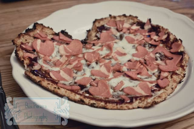 Cauliflower Heart Pizza – 8 points+