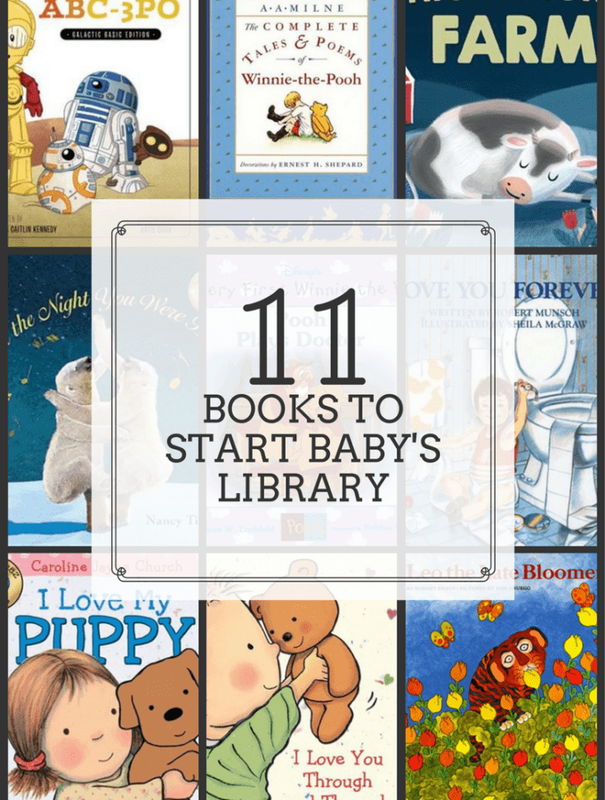 11 Books to Start Your Baby's Library