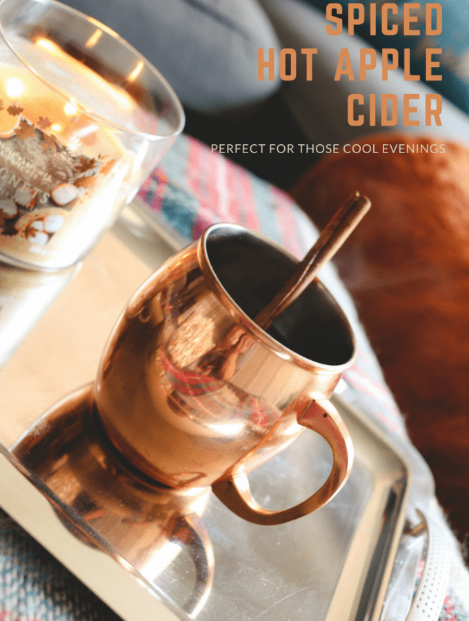 It's fall! So make a mug of spiced hot apple cider