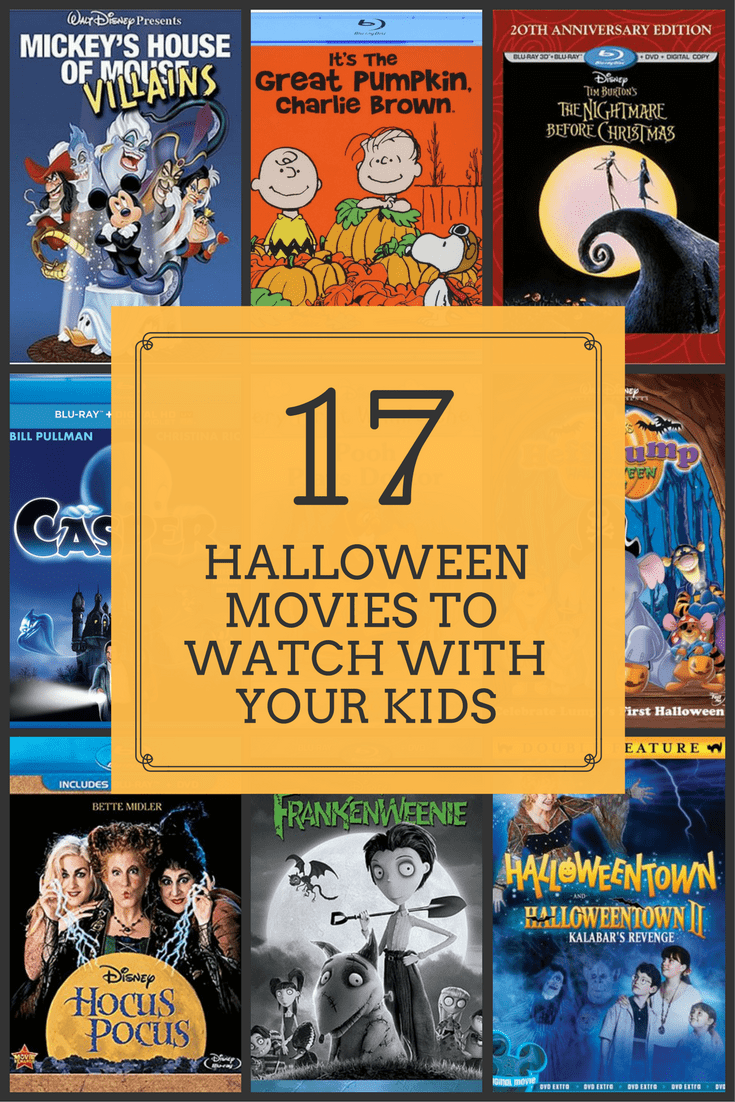 The Best Halloween Movies to Watch with your Kids - With Love From Bex