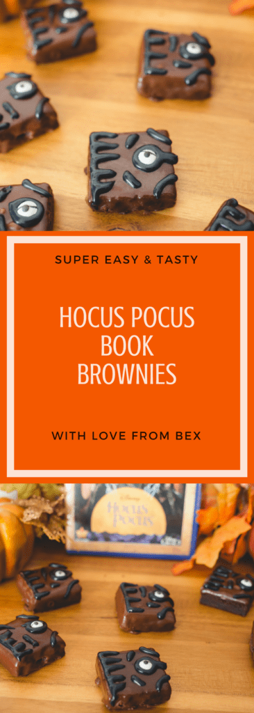 Hocus Pocus halloween treats recipe