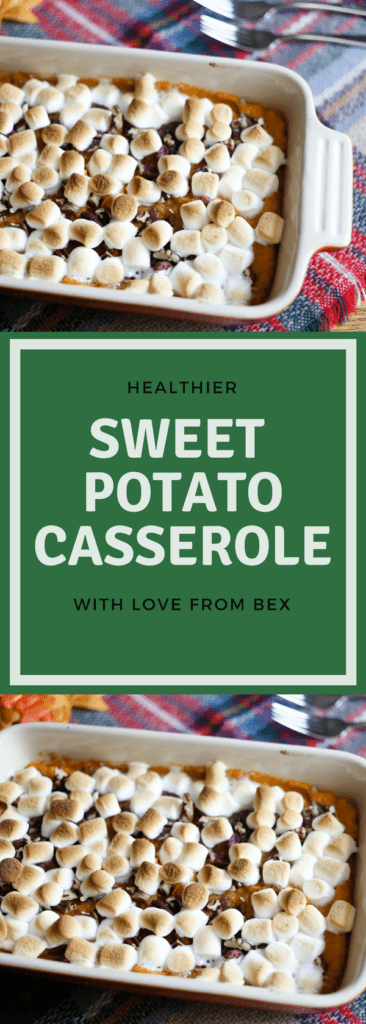 Sweet Potato Casserole Holiday Dish