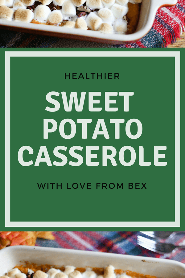 A Healthier Twist on Sweet Potato Casserole