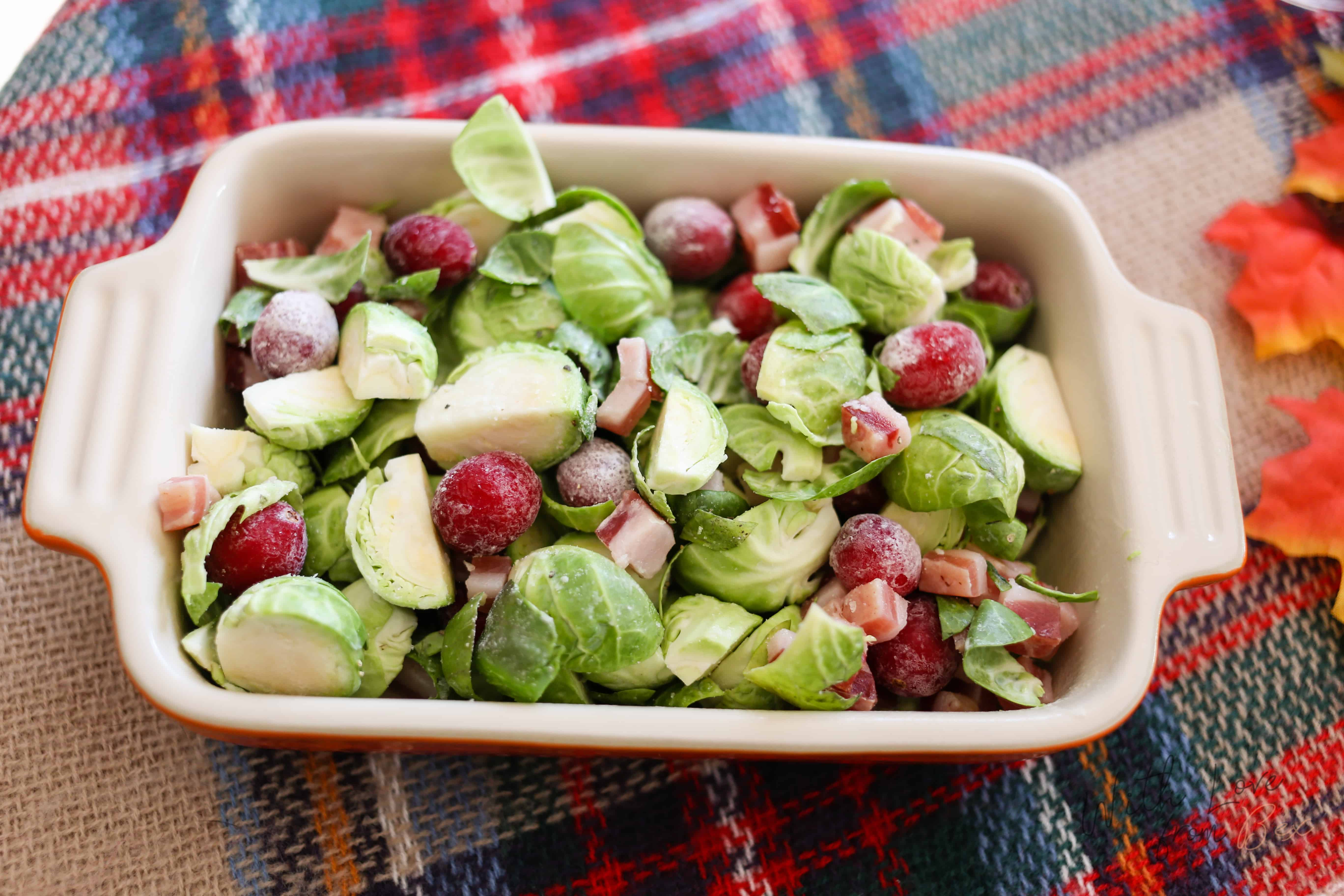 Brussel Sprouts for the holidays