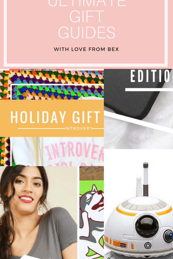 Brace Yourself, The Gift Guides are Coming!!