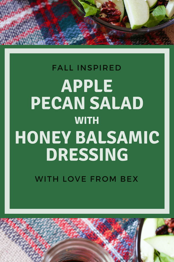 Fall Inspired Salad & Dressing