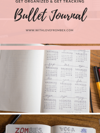 Tracking and Getting Organized with a Bullet Journal