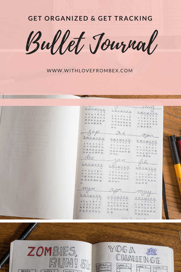 Start a Bullet Journal and Get Tracking