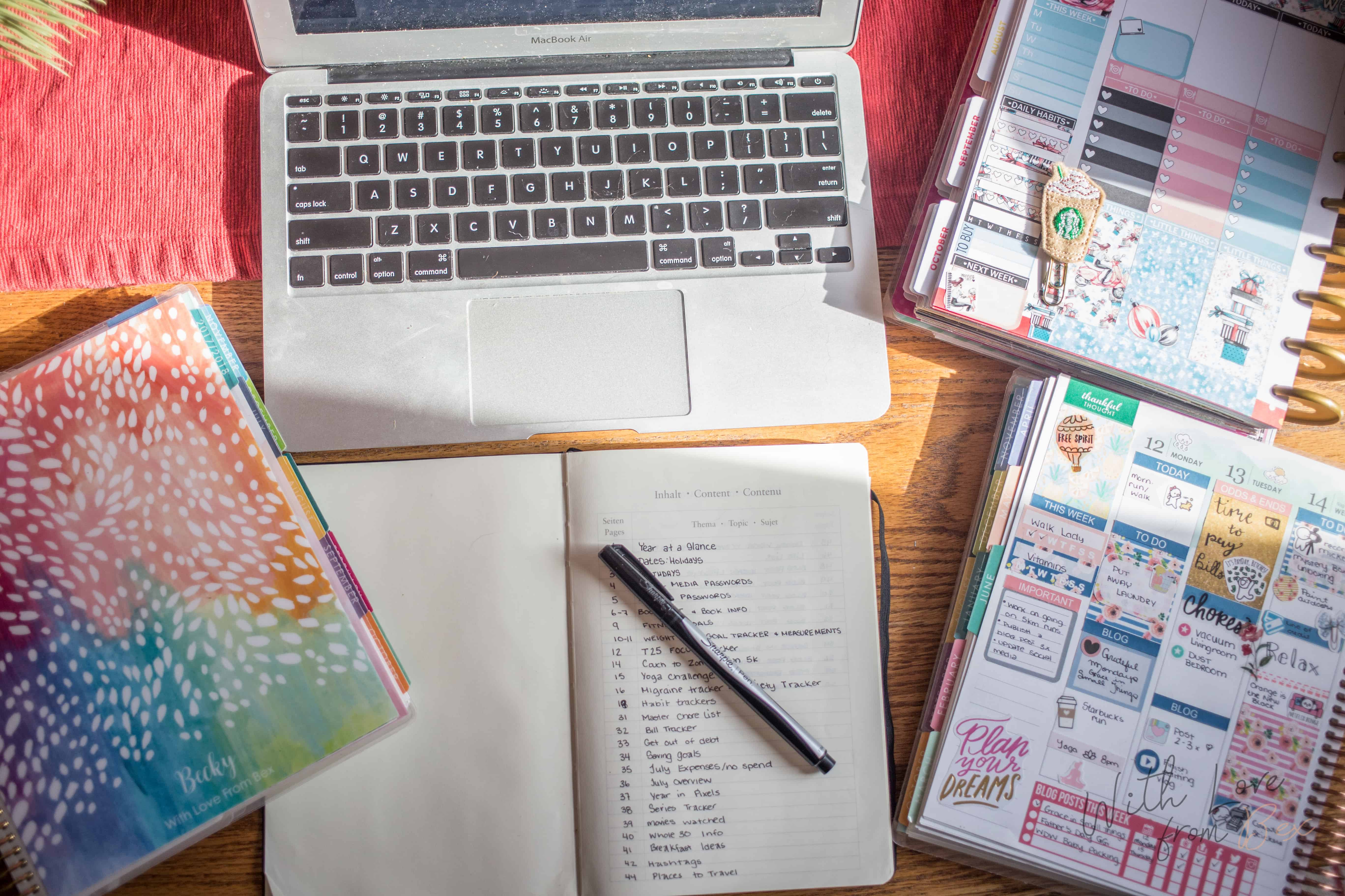 Getting started with Bullet Journaling