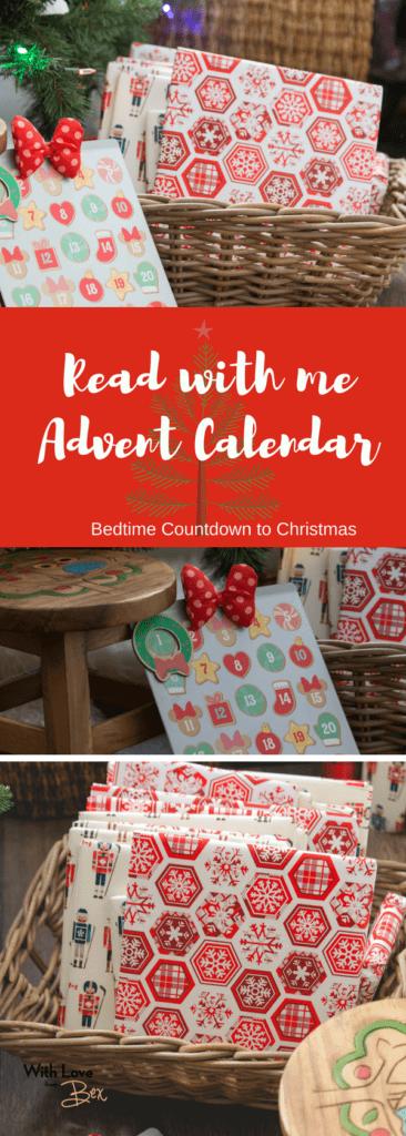 DIY Advent Calendar Bedtime Stories for Christmas