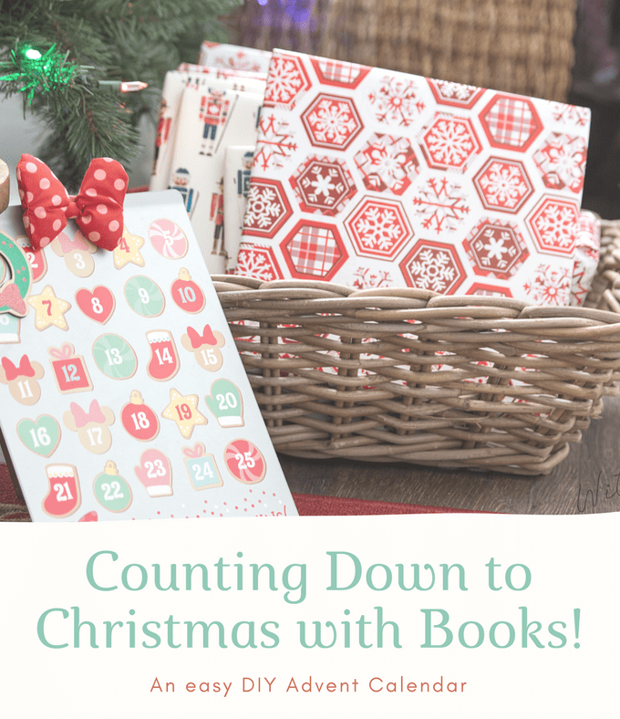 Counting Down to Christmas with Books! An Easy DIY Advent Calendar