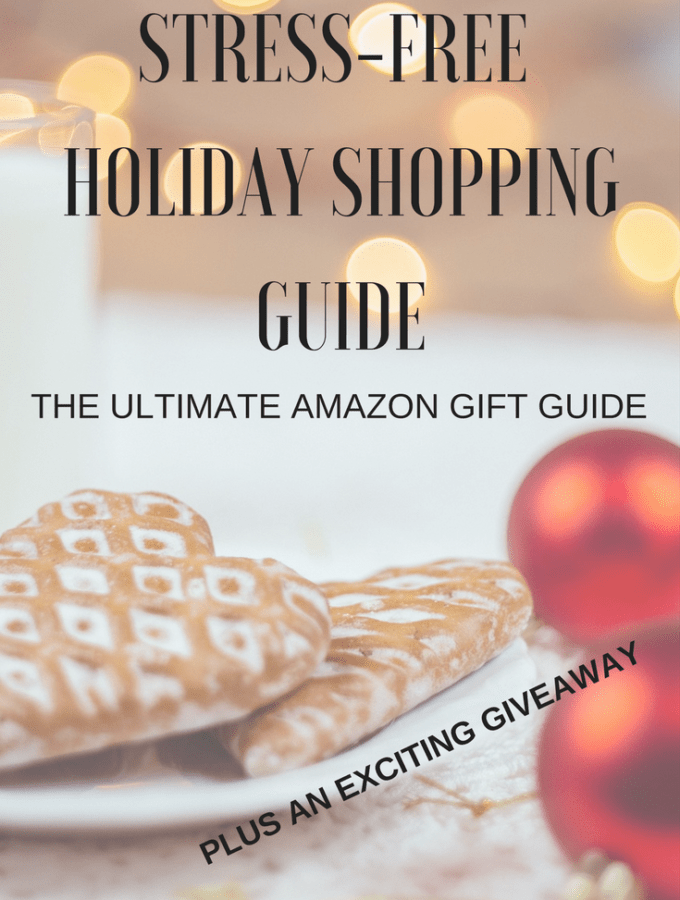 Stress-free Holiday Shopping Gift Guide + GIVEAWAY