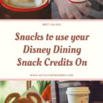 Disney World Dining Plan snack credits