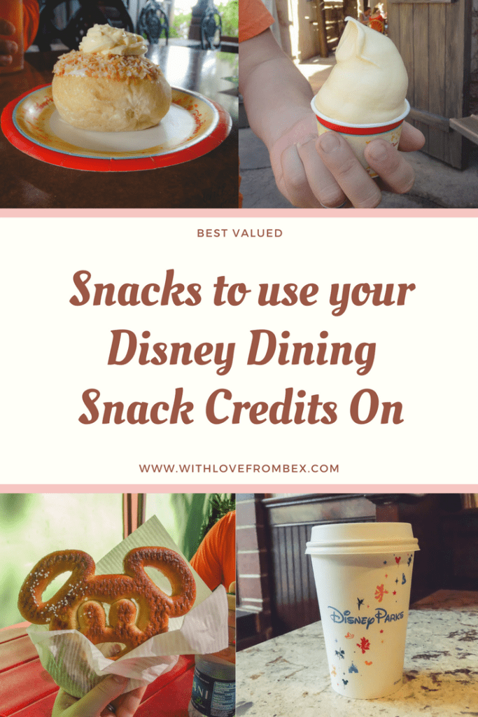 Best Walt Disney World Snacks on the Dining Plan