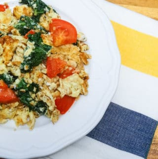 whole 30 scrambled egg breakfast